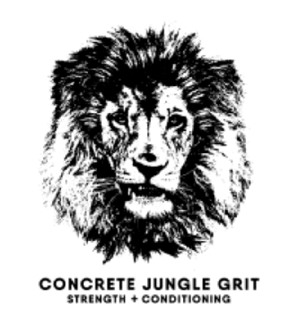 Concrete Jungle Grit Strength and Conditioning  logo