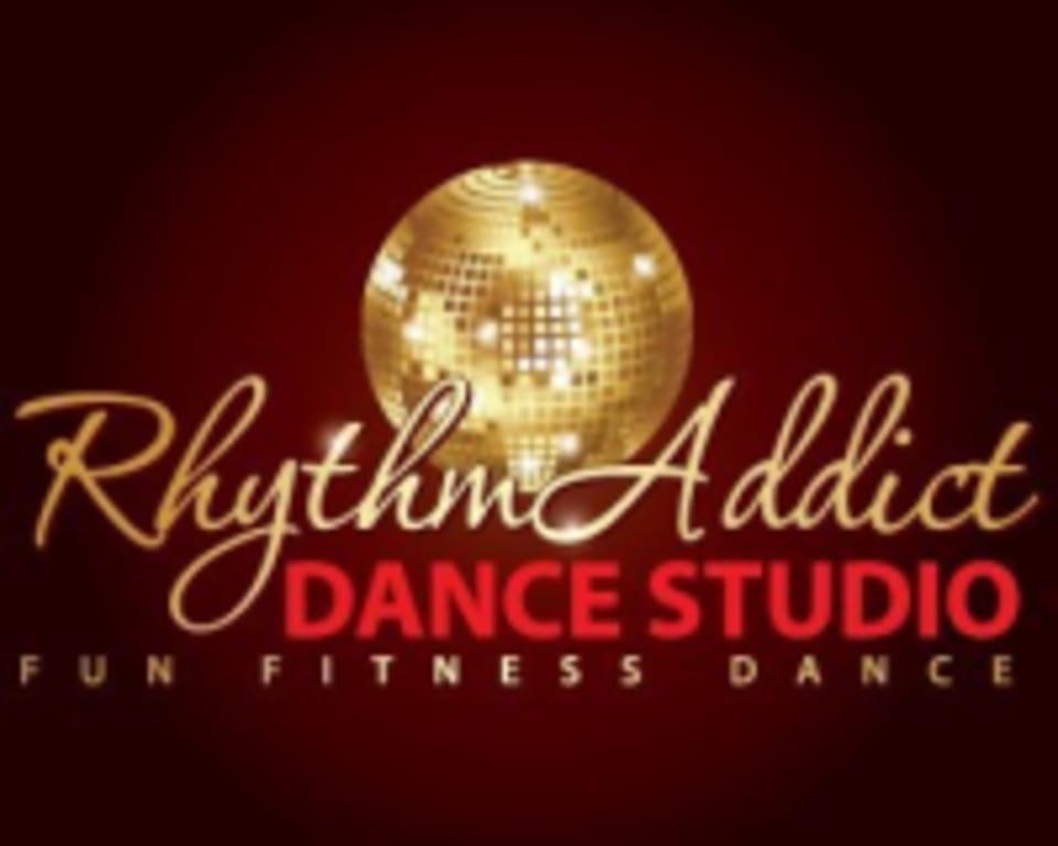 RhythmAddict Dance Studio logo