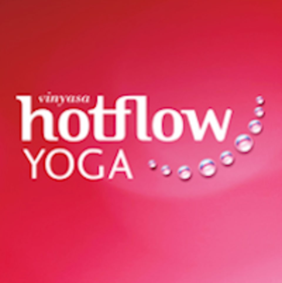 Hot Flow Yoga  logo