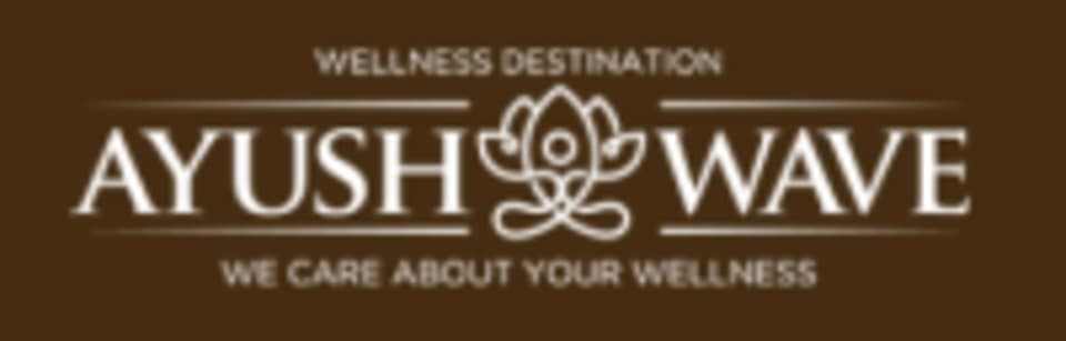 Ayush Wave Ayurvedic Wellness and Yoga logo