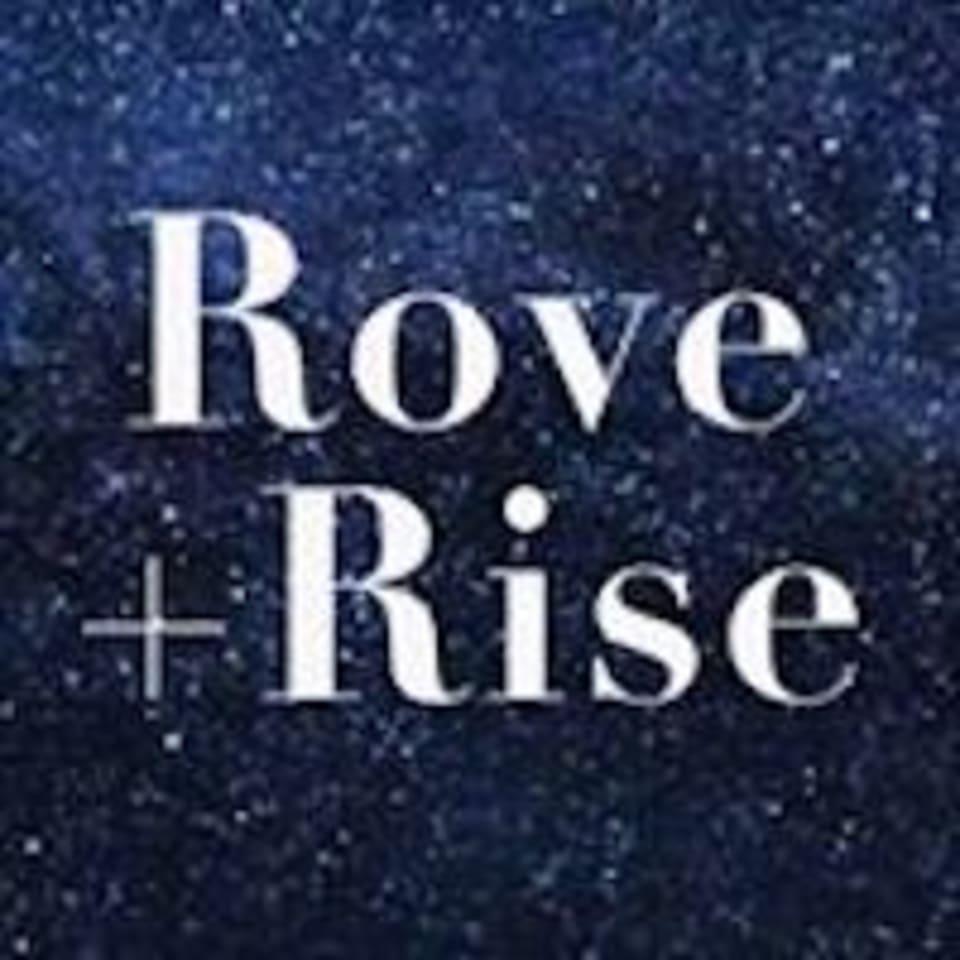 Rove + Rise logo