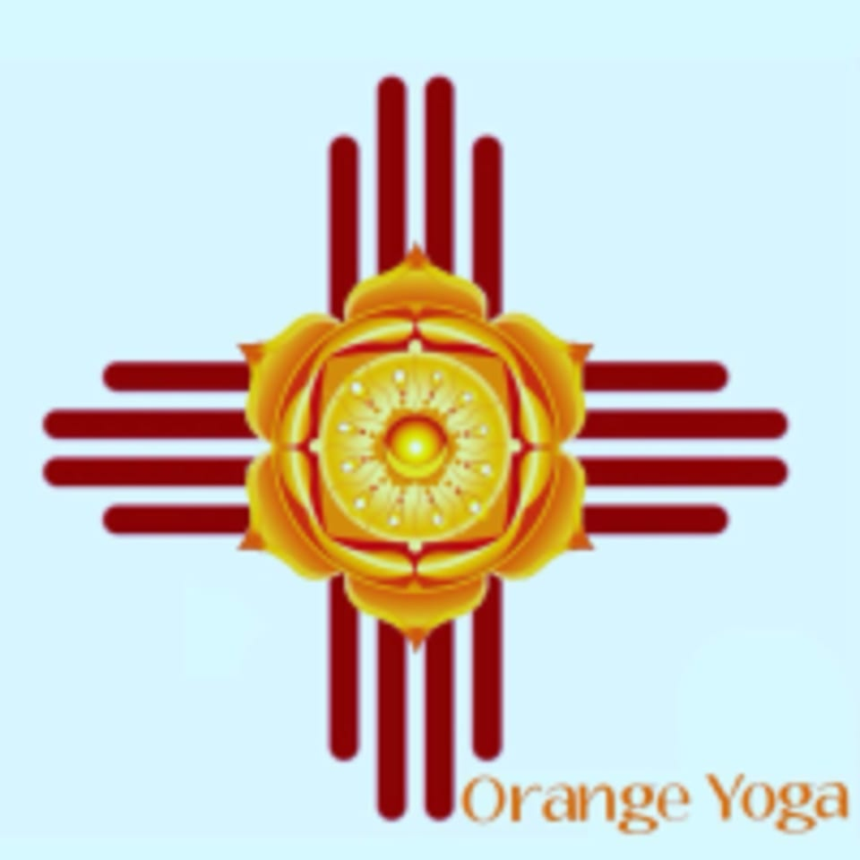 Orange Yoga logo