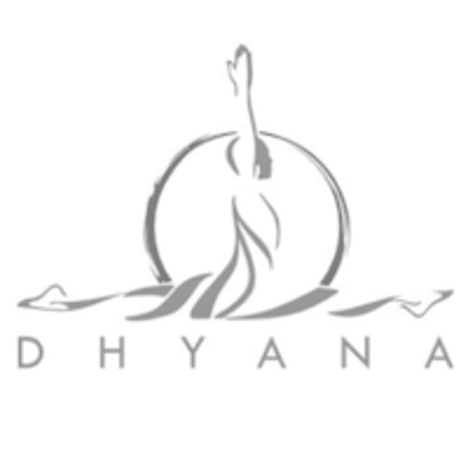 Dhyana Yoga and Pilates Studio logo