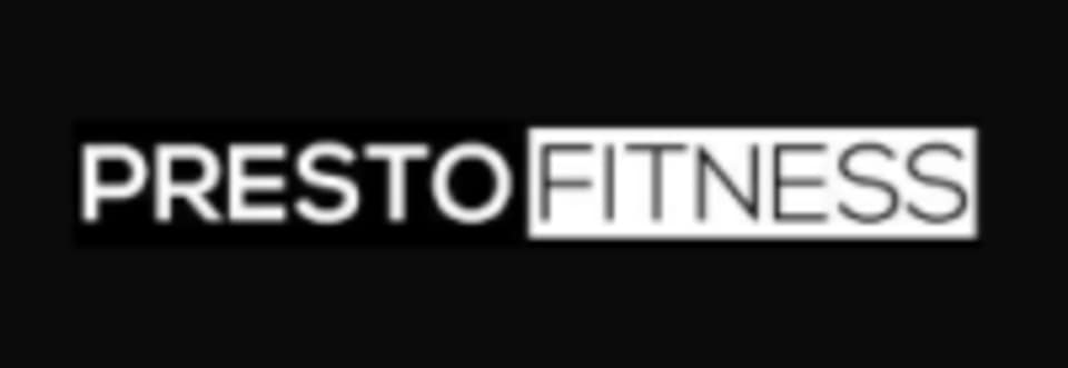 Presto Fitness logo