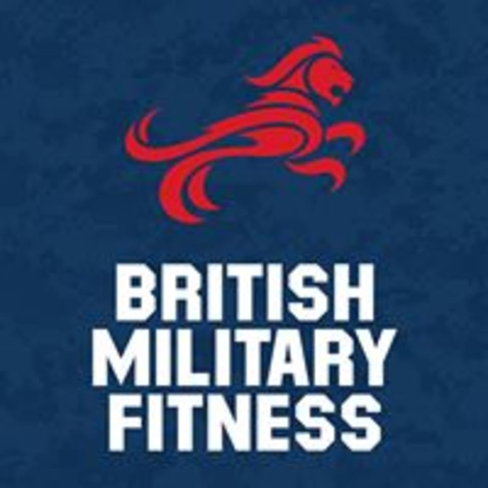 Be Military Fit logo