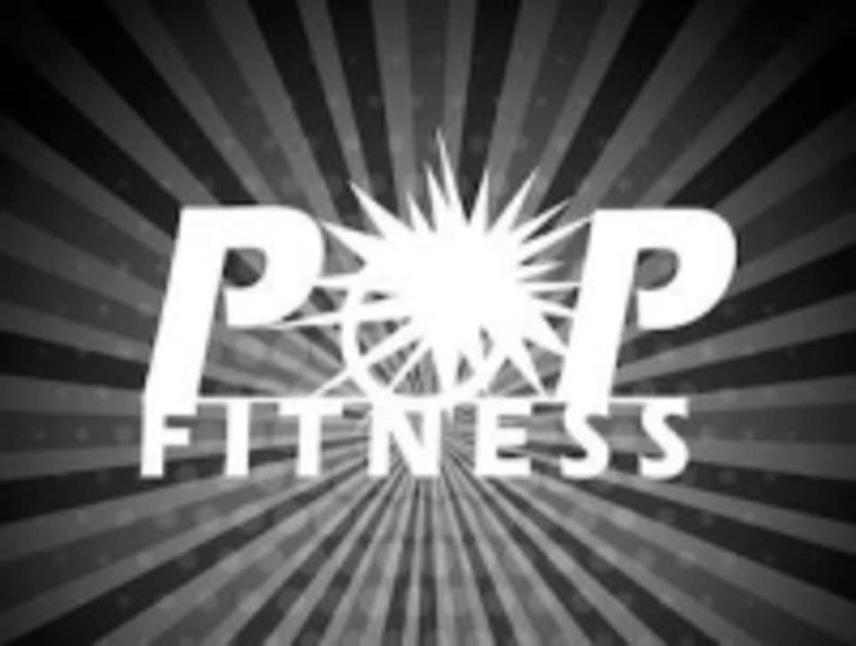POP Fitness logo