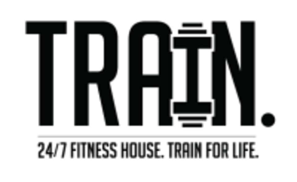 TRAIN. Fitness House logo