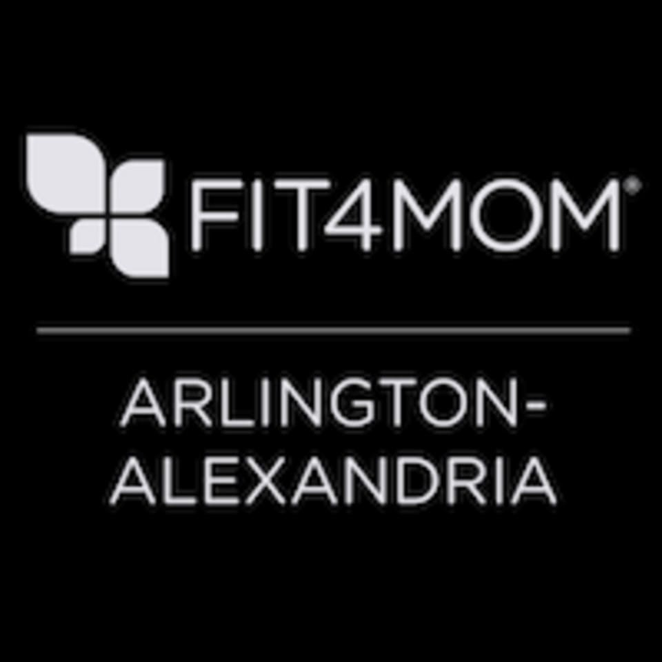 FIT4MOM Arlington  logo