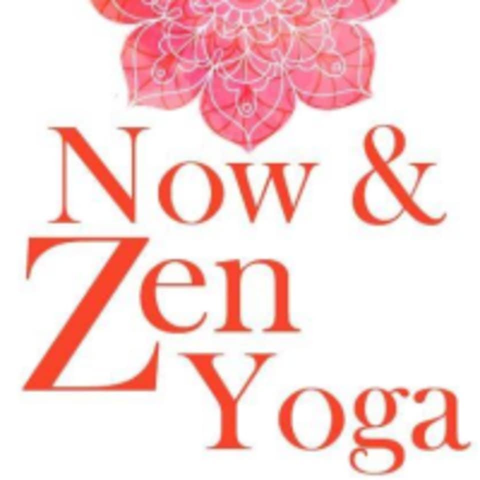 Now & Zen Yoga logo