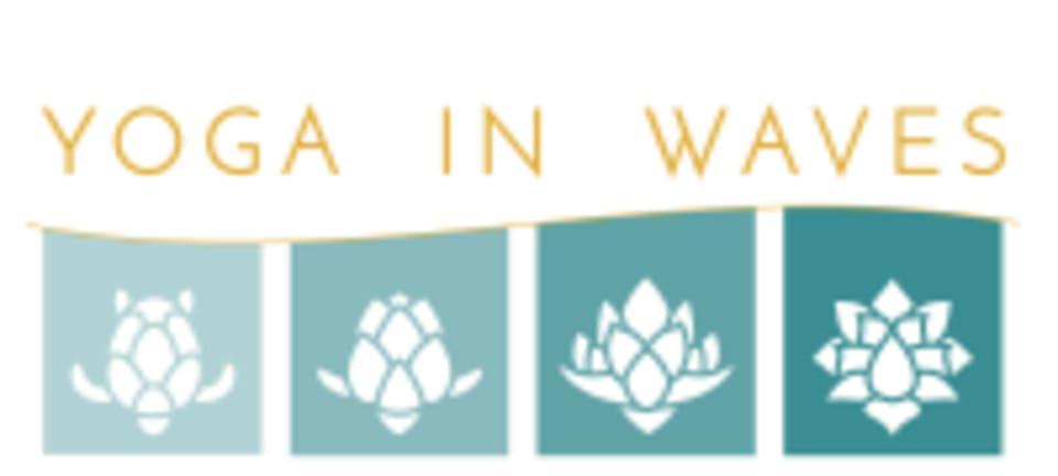 Yoga in Waves logo