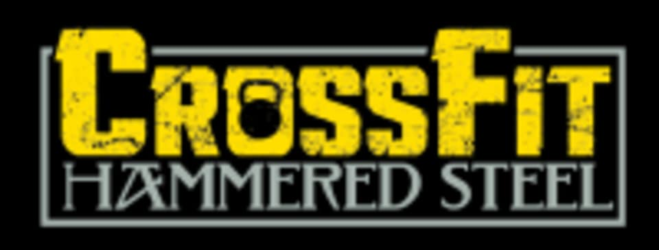 Crossfit Hammered Steel logo
