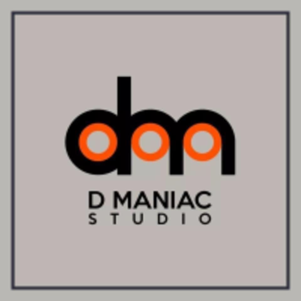 D Maniac Studio  logo