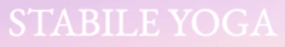 Stabile Yoga logo