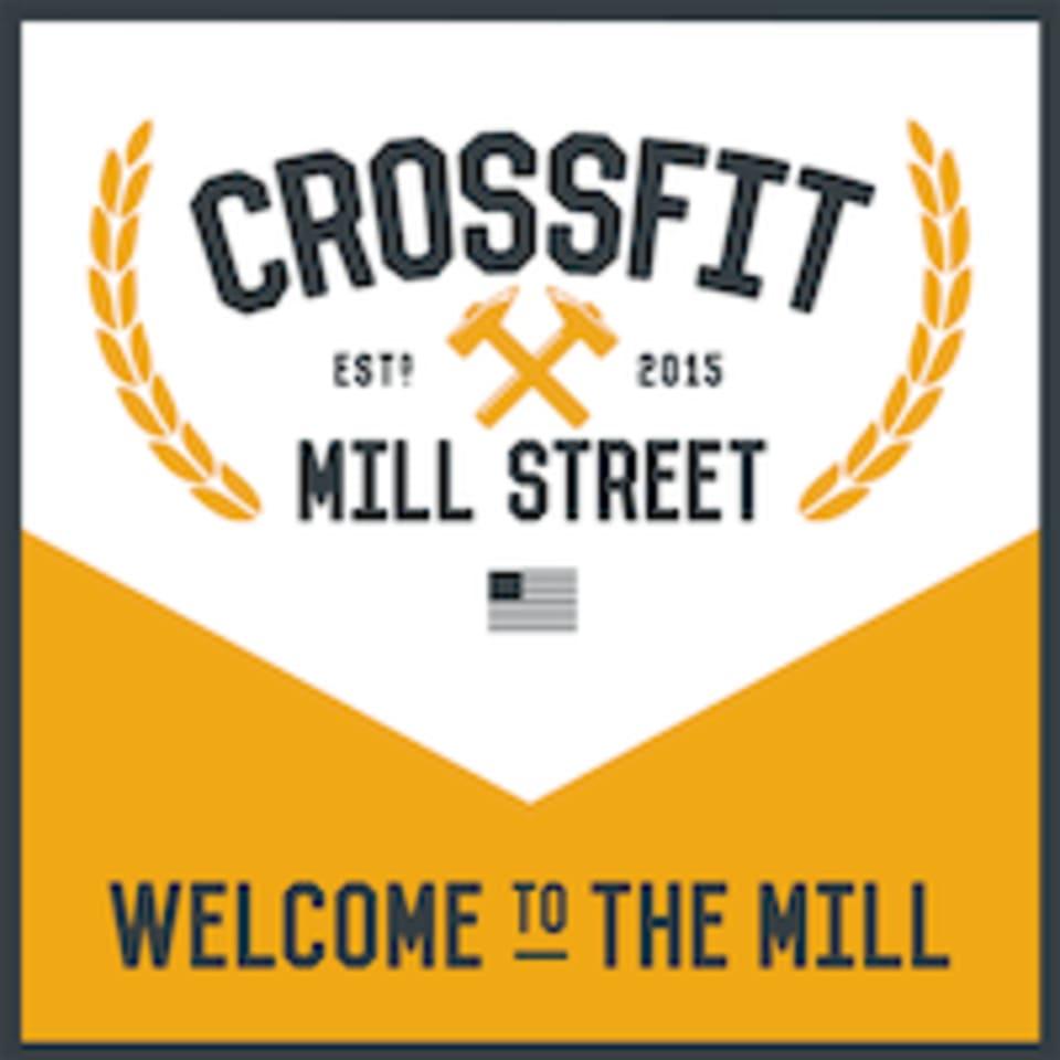 """CrossFit Mill Street - """"The Mill"""" logo"""