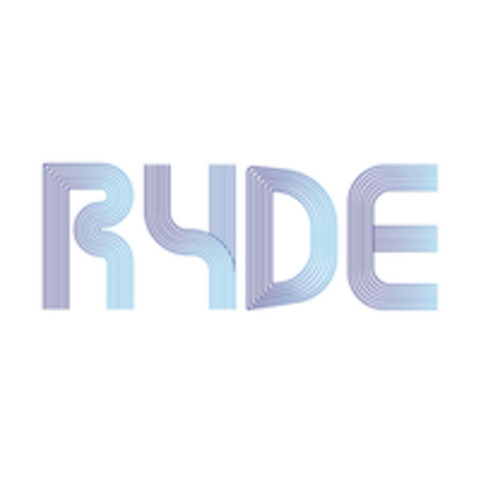 RYDE  logo
