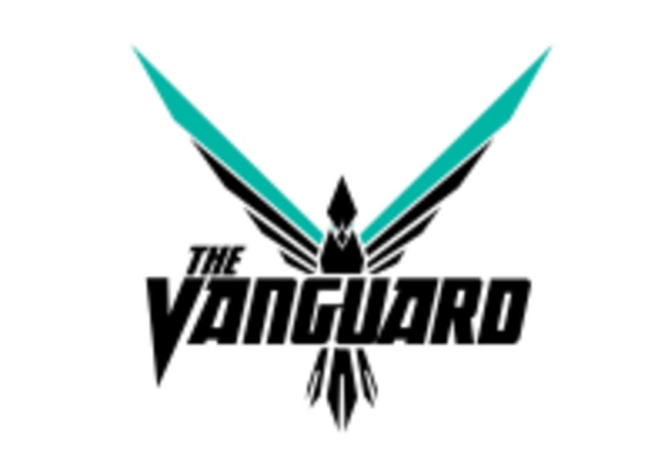 The Vanguard Weightlifting logo