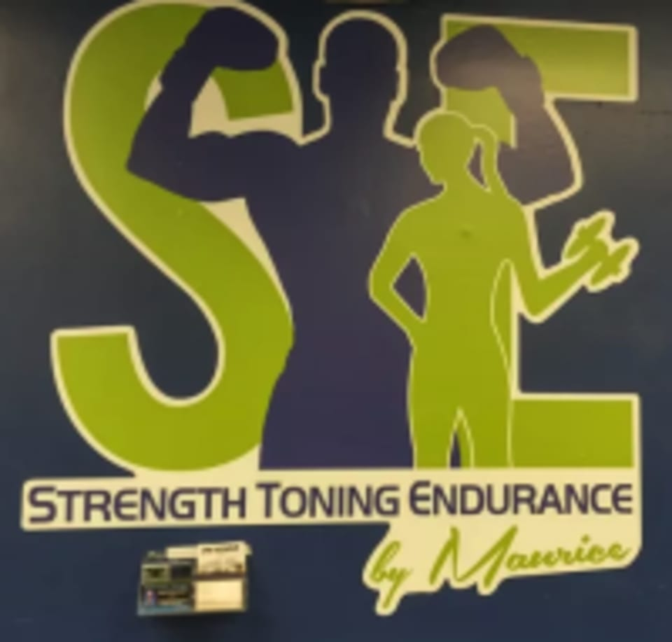 Strength Toning Endurance by Maurice logo