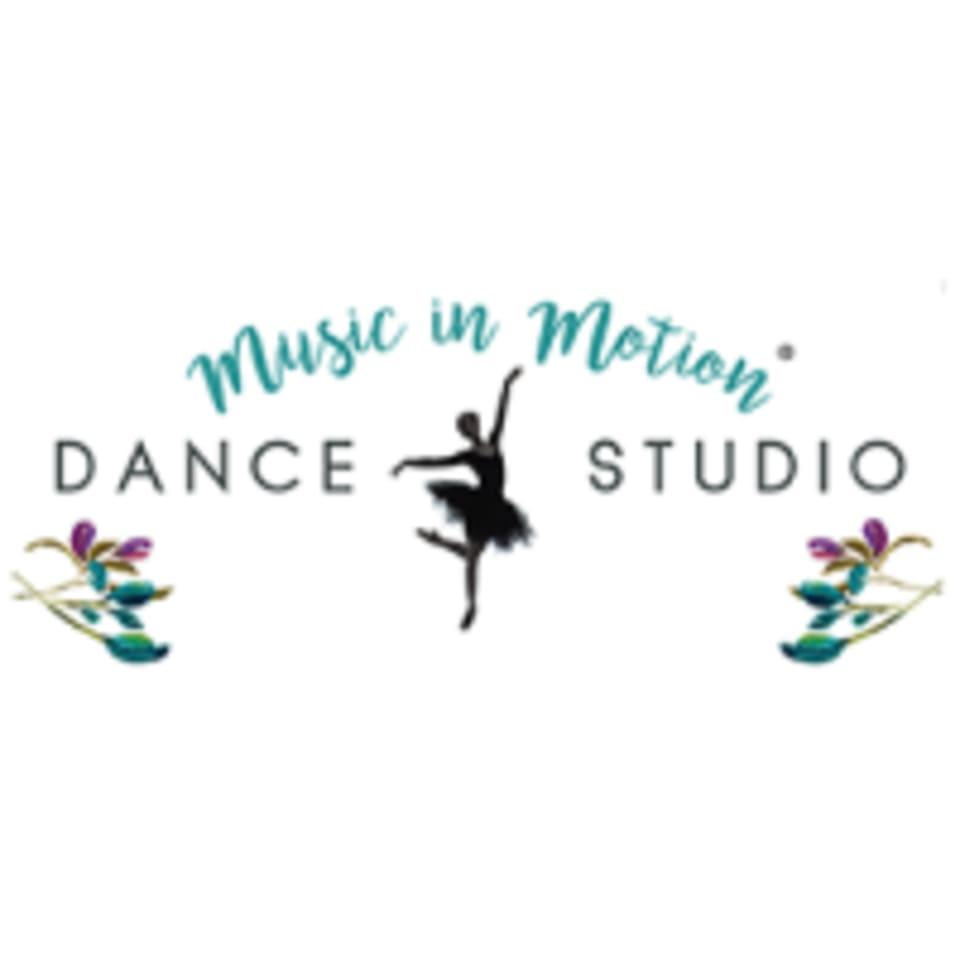 Music In Motion Dance Studio logo