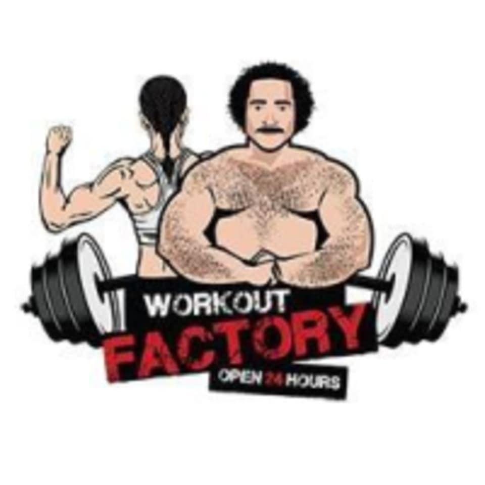 Workout Factory 24/7 logo