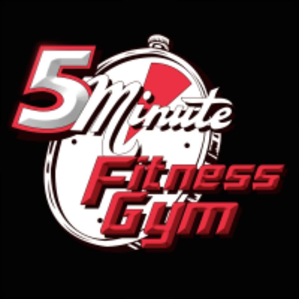5 Minute Fitness Gym logo