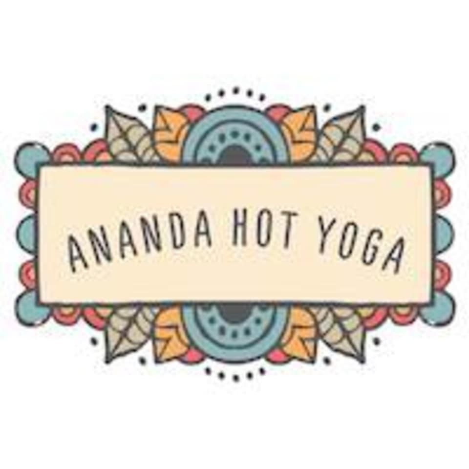Ananda Hot Yoga logo