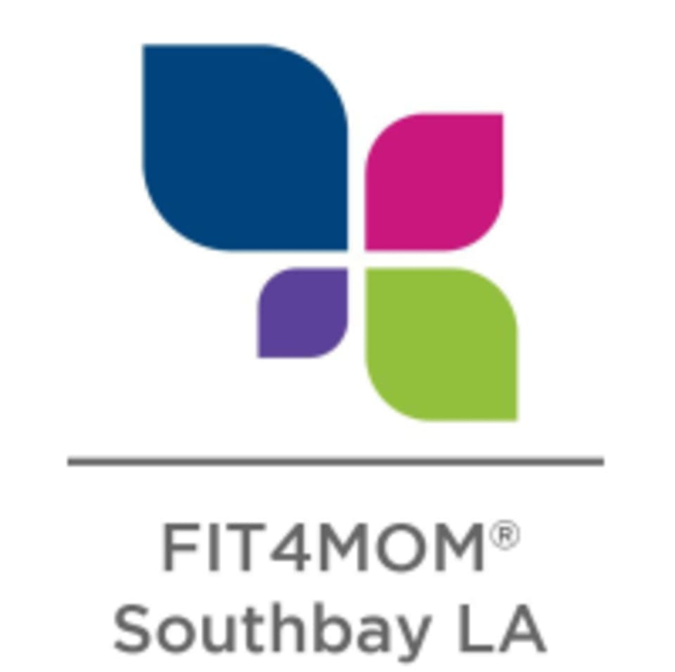 FIT4MOM South Bay LA  logo