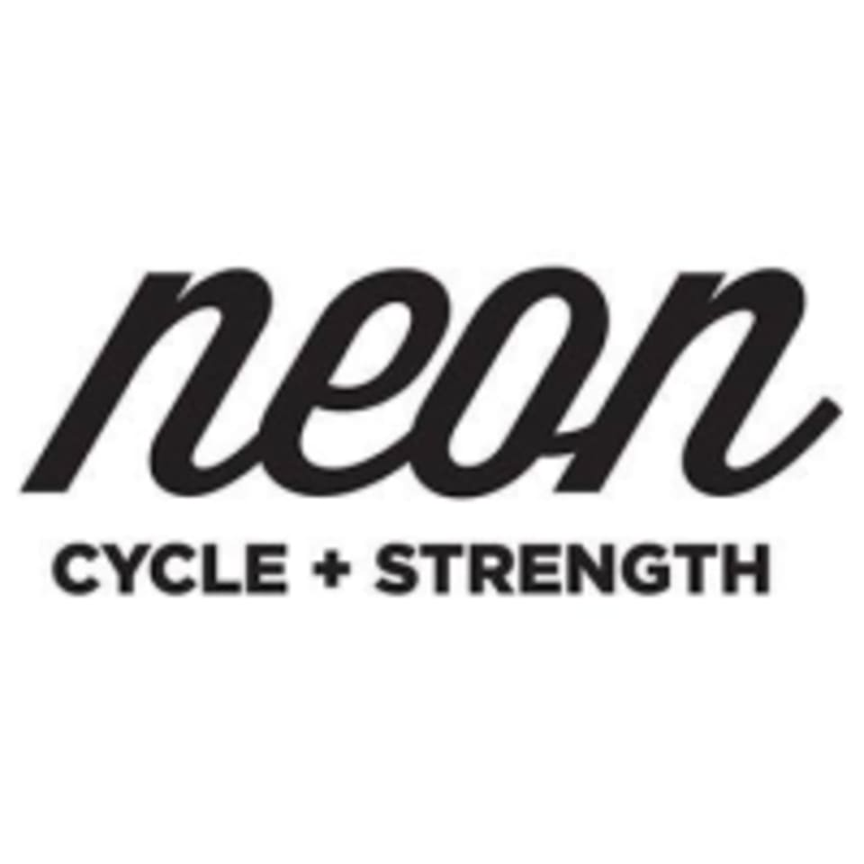 Neon Cycle + Strength logo