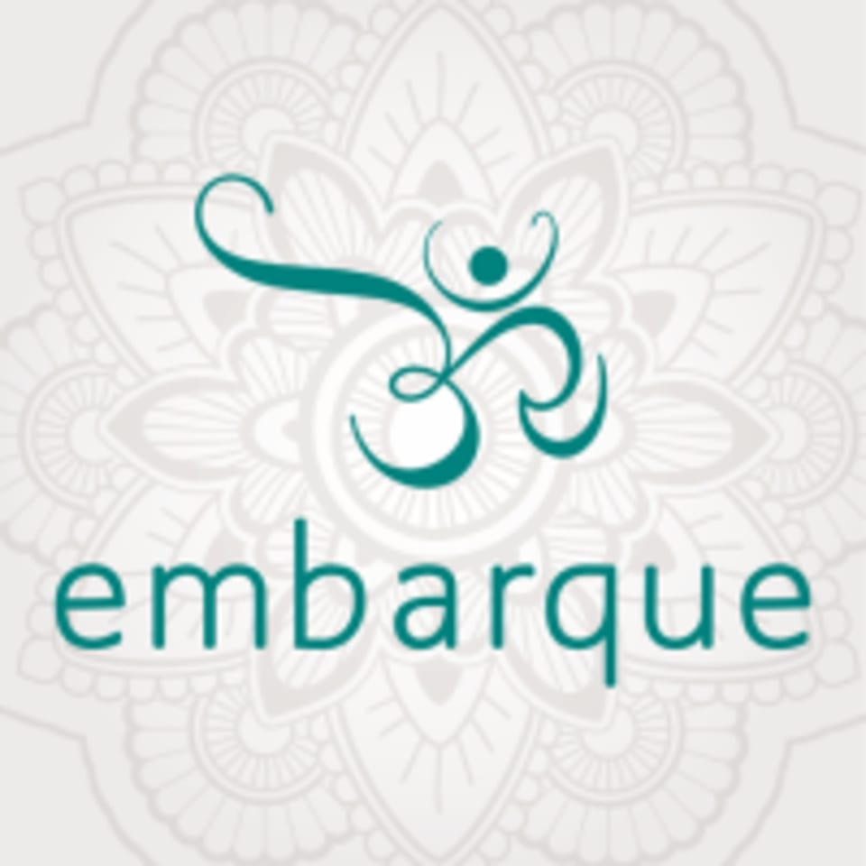 Embarque Yoga Therapy + Wellness logo