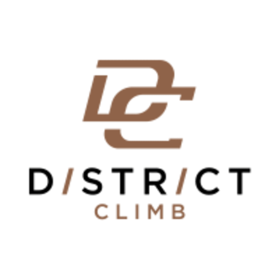 District Climb logo