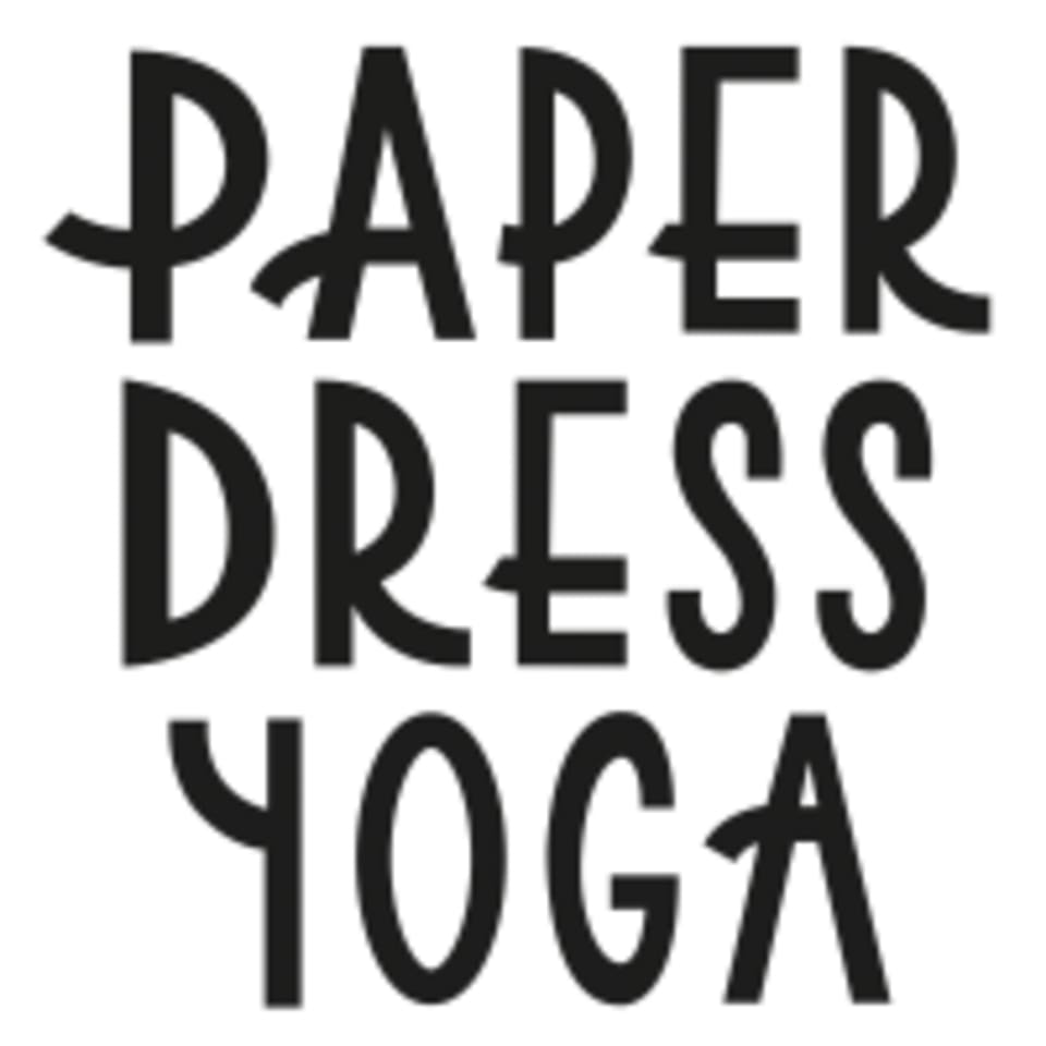 Paper Dress Yoga logo