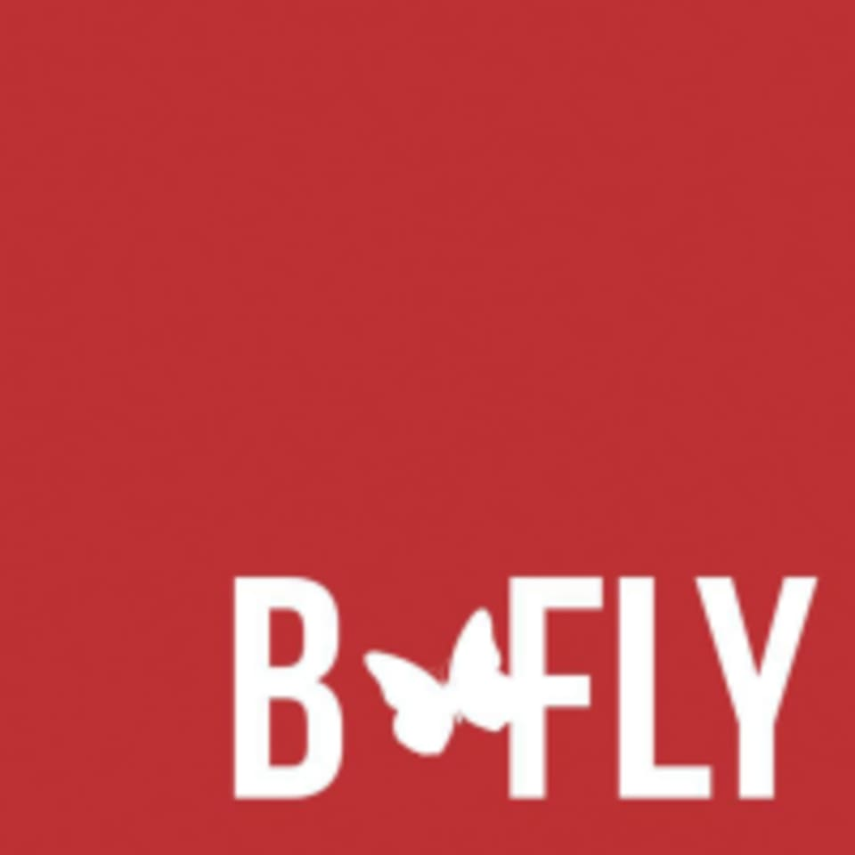 B-Fly Boxing Club logo