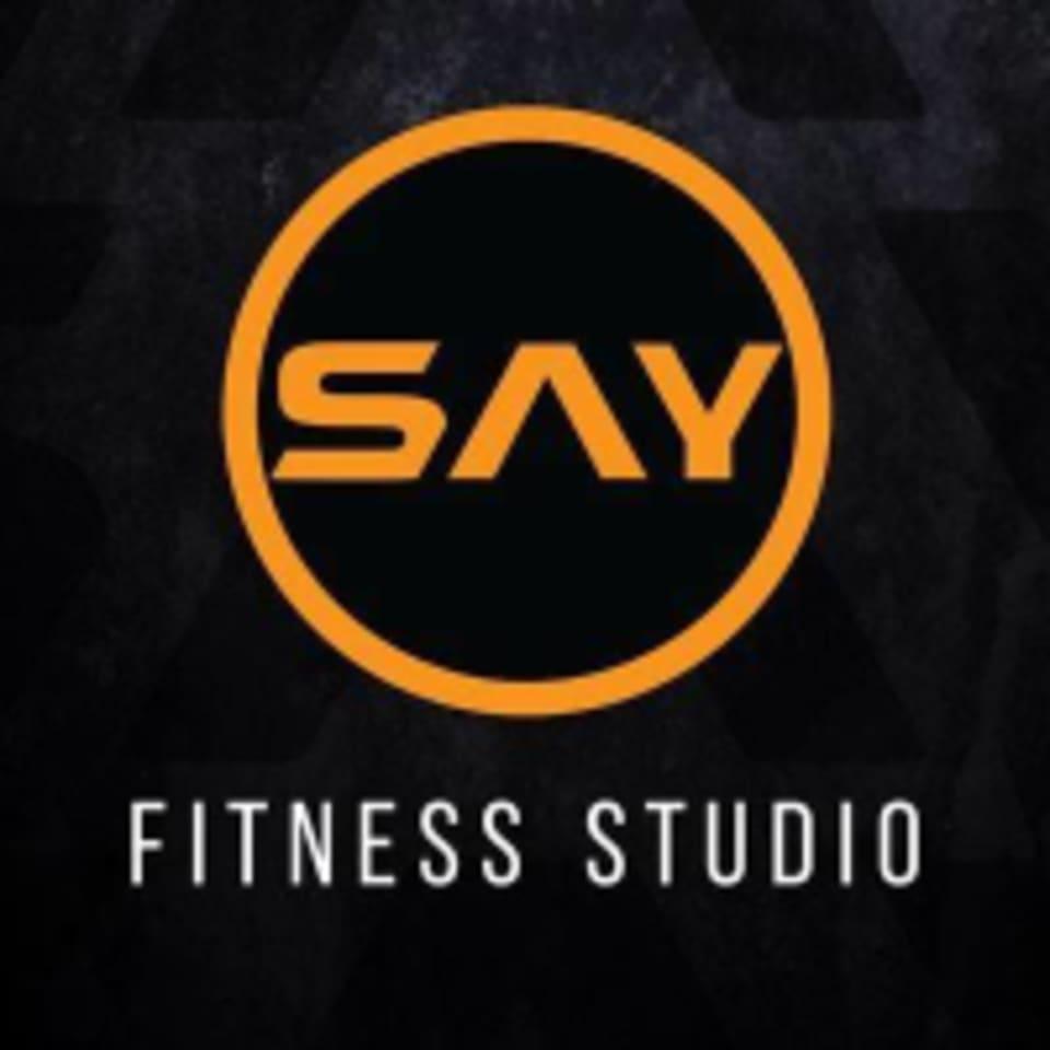 SAY Fitness Studio logo