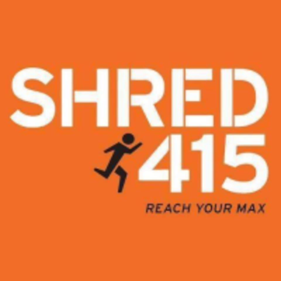 Shred415 logo