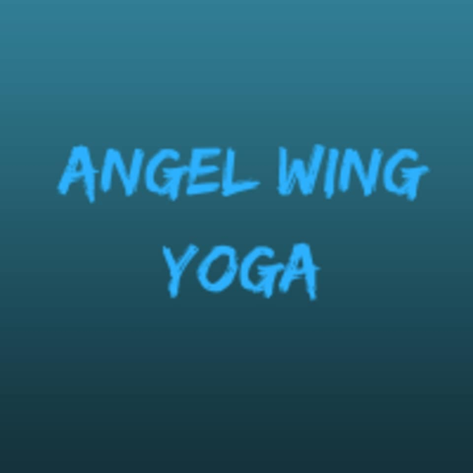 Angel Wing Yoga logo