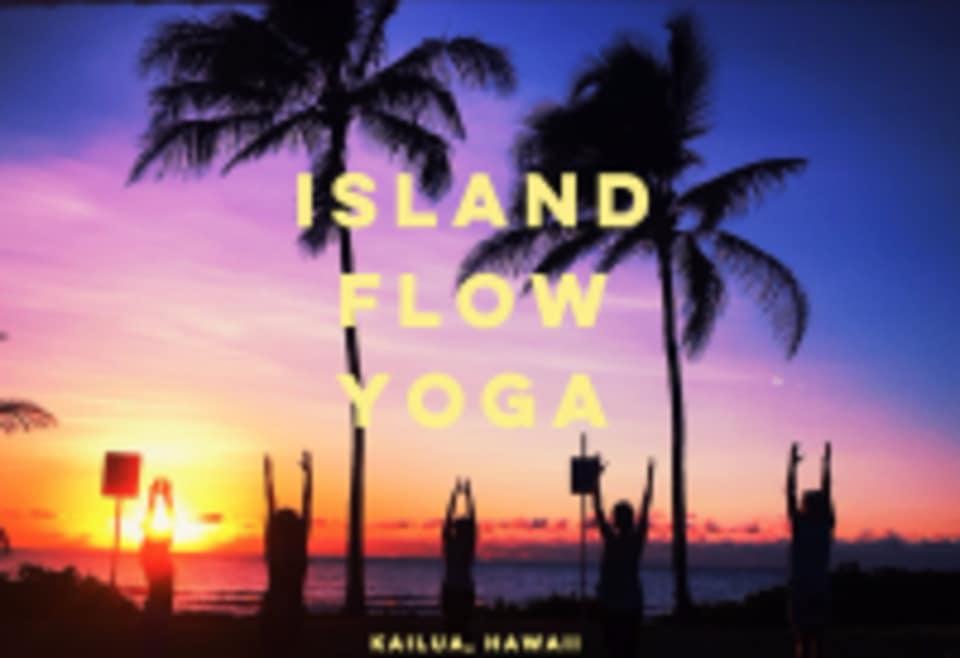 Island Flow Yoga logo