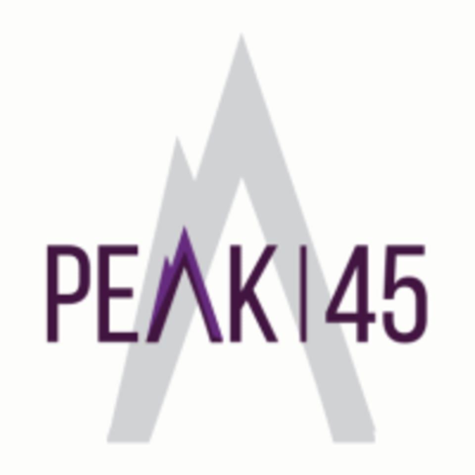 Peak 45 logo