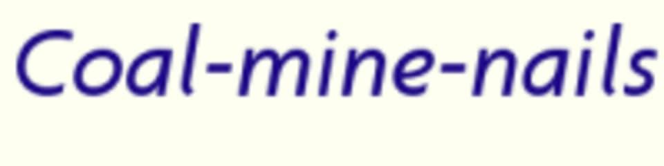 Coal Mine Nails & Spa LLC logo
