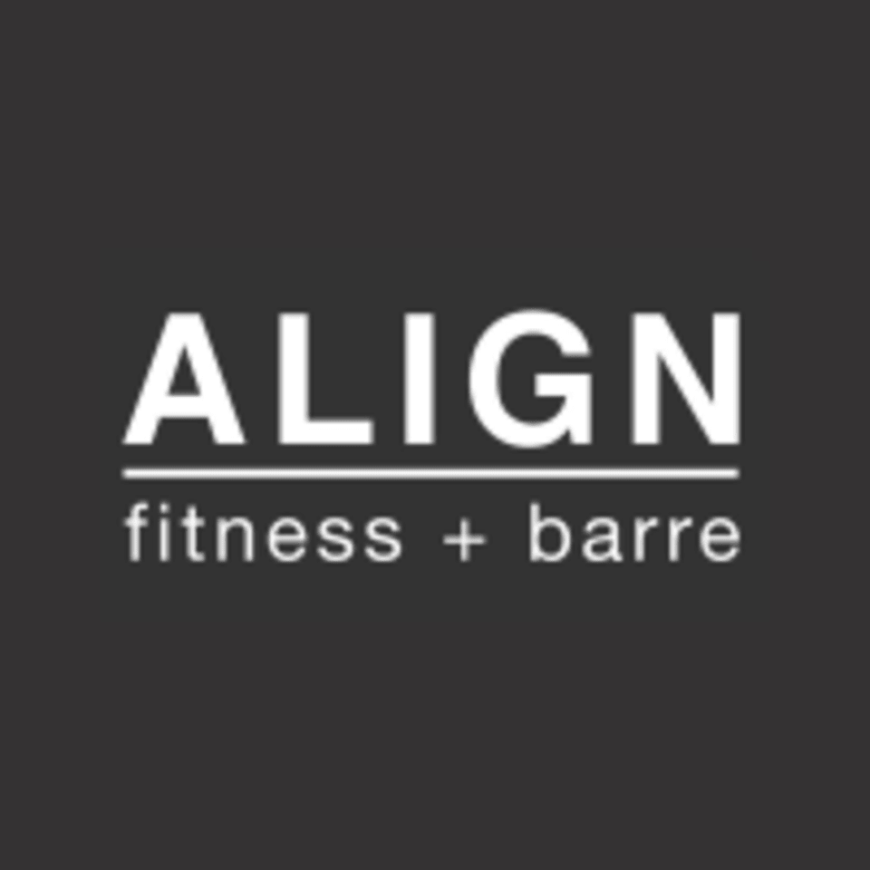 ALIGN fitness + barre logo