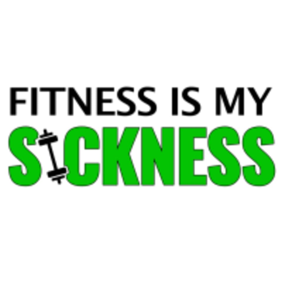 Fitness Is My Sickness logo
