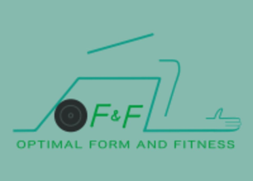 OPTIMAL FORM AND FITNESS logo