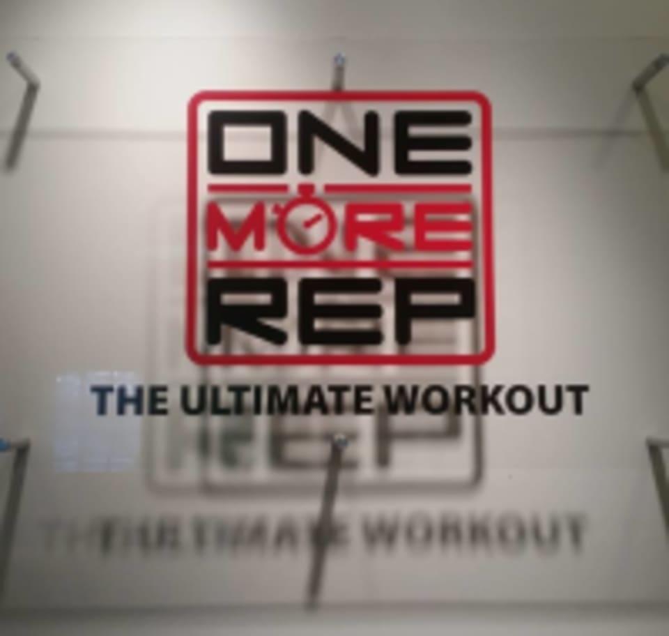 One More Rep logo
