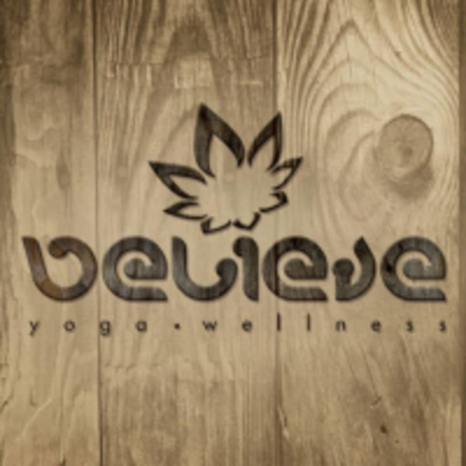 believe yoga.wellness logo