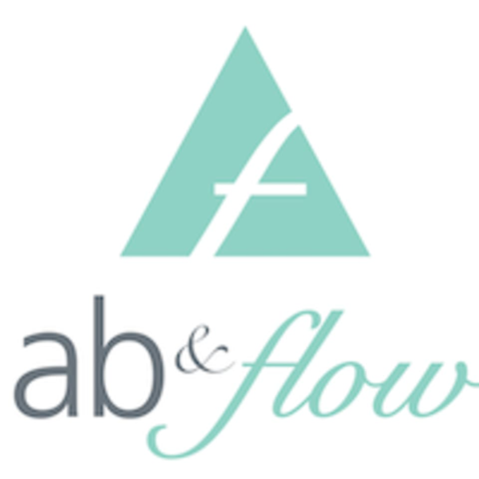 Ab and Flow Pilates Studio logo
