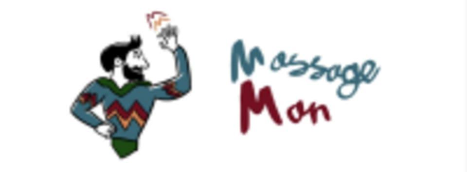 Massage Man Chris Morgan logo