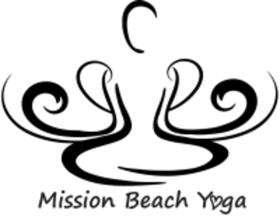 Mission Beach Yoga logo