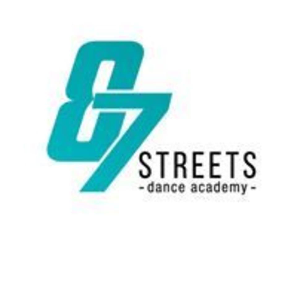 eightyseven streets dance academy logo