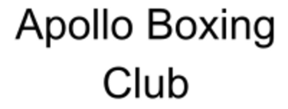 Apollo Boxing Club logo