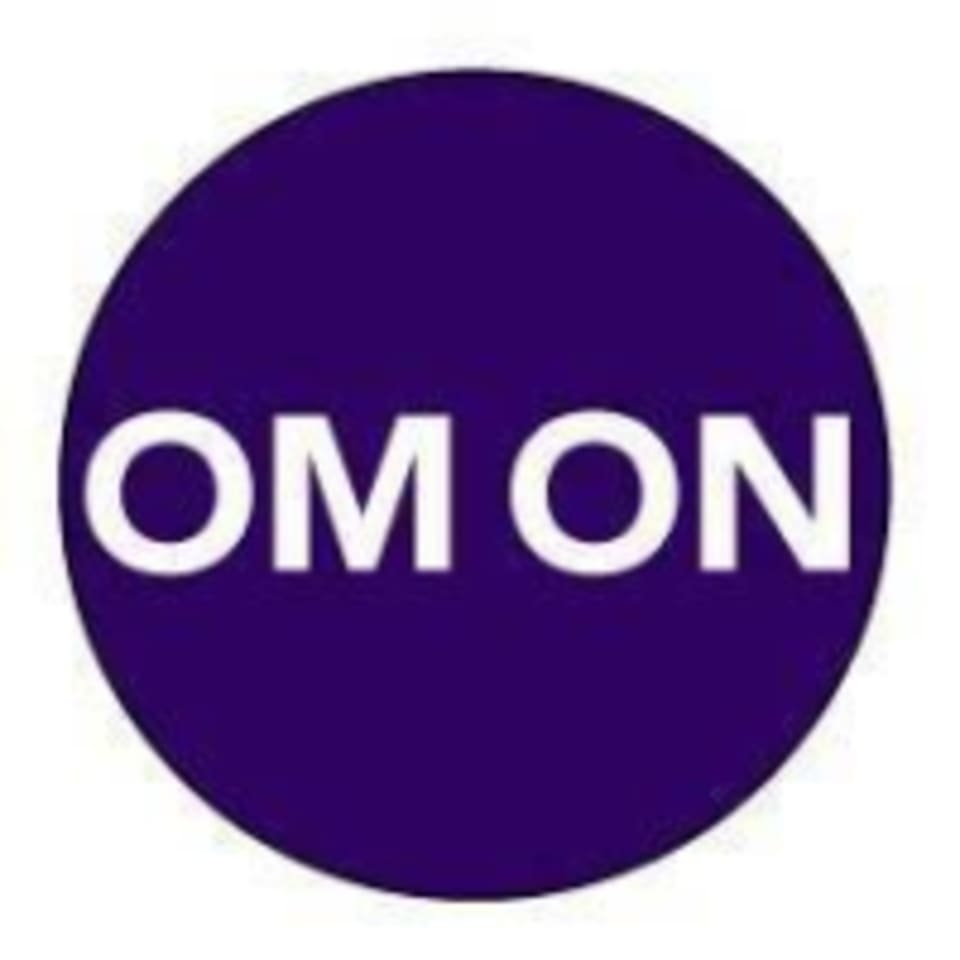 Om On Yoga logo