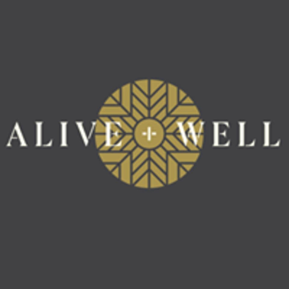 Alive + Well logo