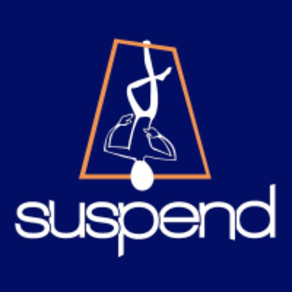 Suspend logo